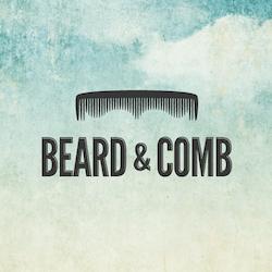 Logo design for Beard & Comb by OrangeCrush