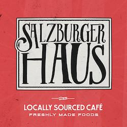 Logo design for salzburgerhaus by nevergohungry