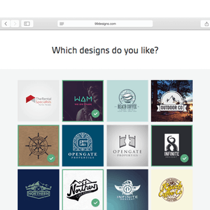 answer a few simple questions and post your project for designers to see