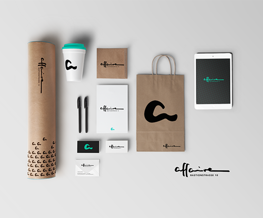 Nnorth brand identity design for affaire