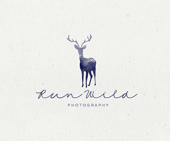 Run Wild photography logo