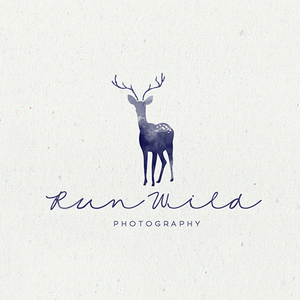Run Wild photography logo