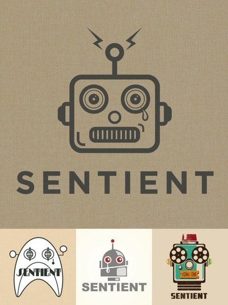 sentient entertainment logo design