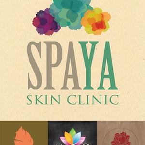 spaya spa & esthetics logo design