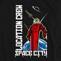 Logo design for Space City Films by pmo