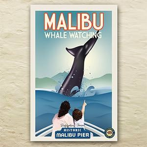 Logo design for Malibu Pier by mpkz