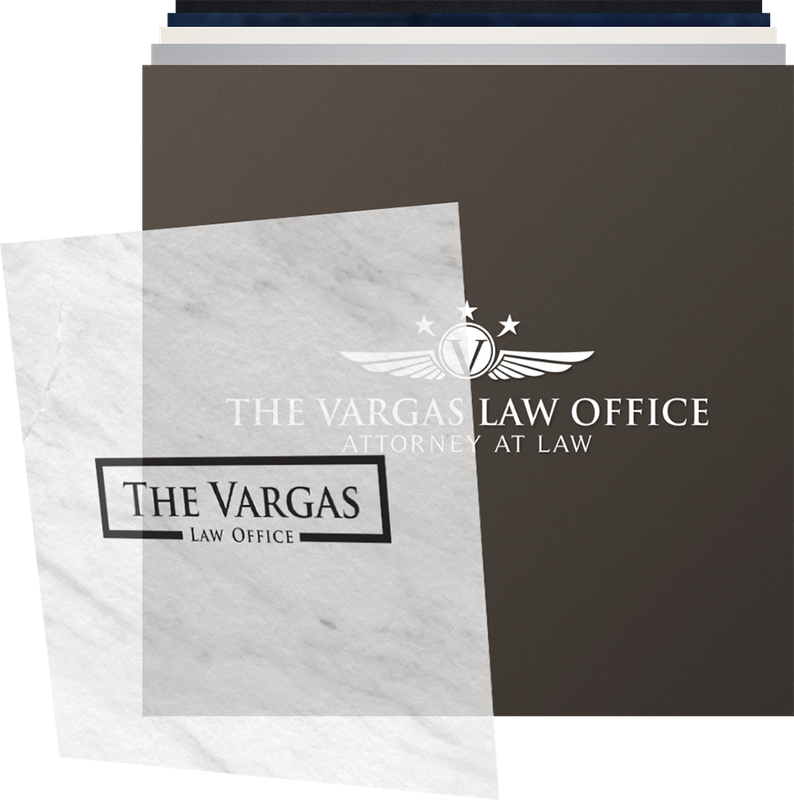 attorney & law logo design header