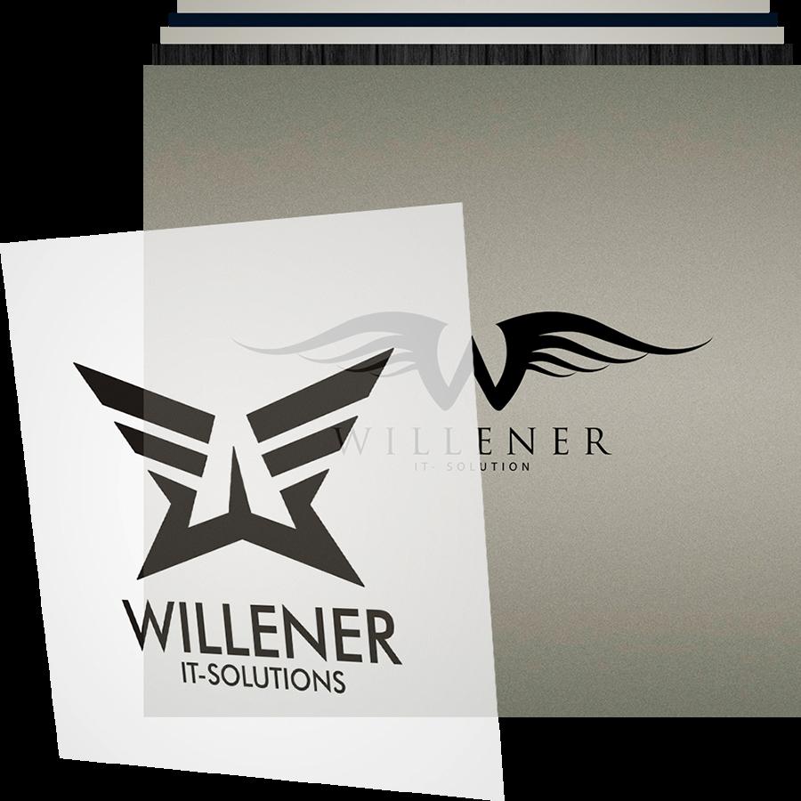 business logo design header