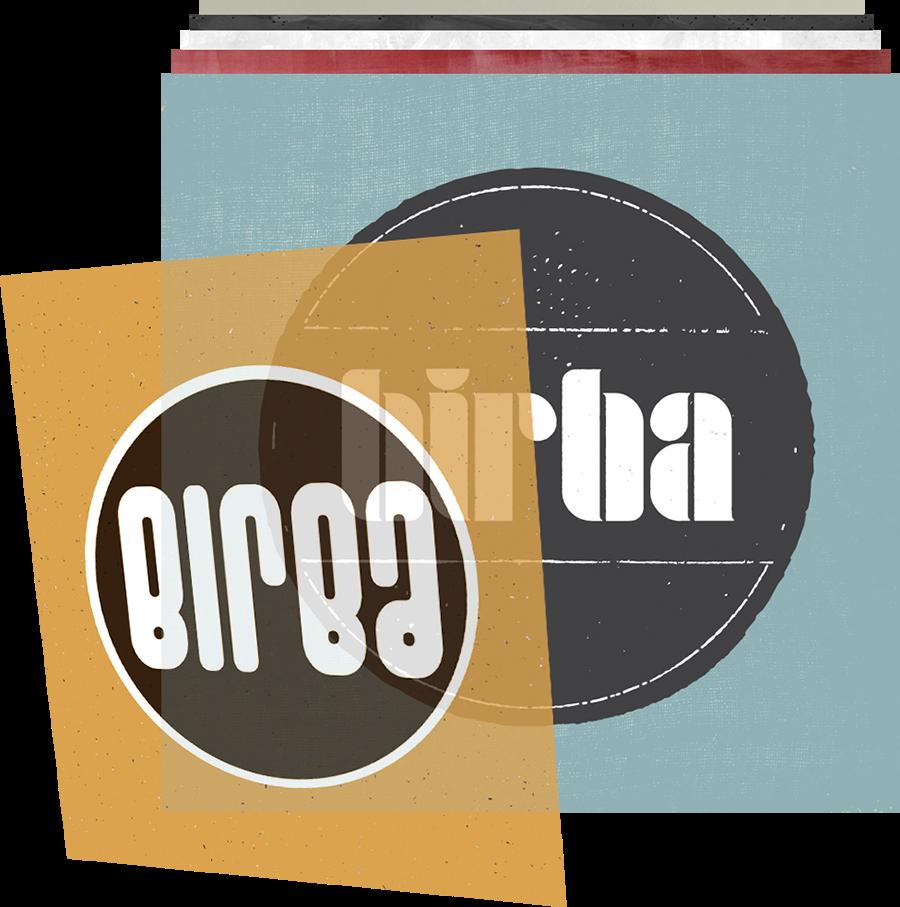 bar & nightclub logo design header