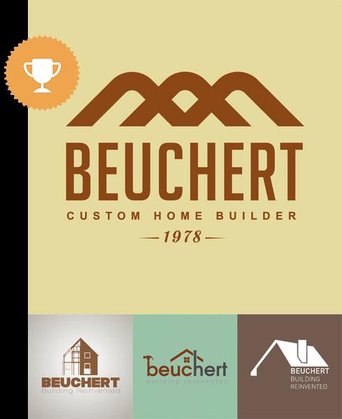 beuchert architectural logo design