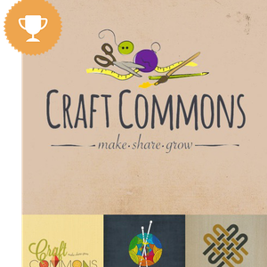 craft commons art & design logo design