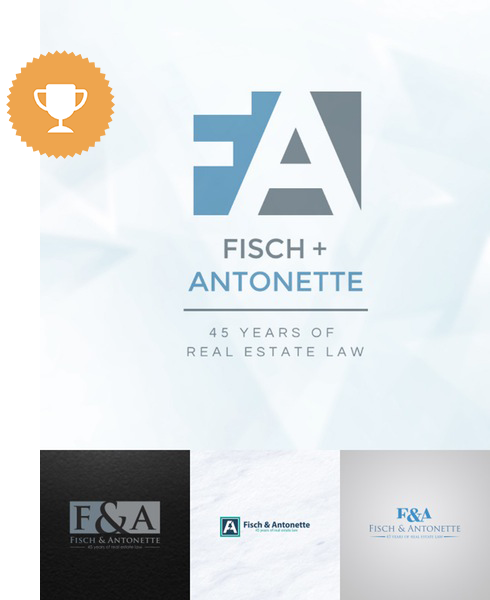fisch & antonette attorney & law logo design