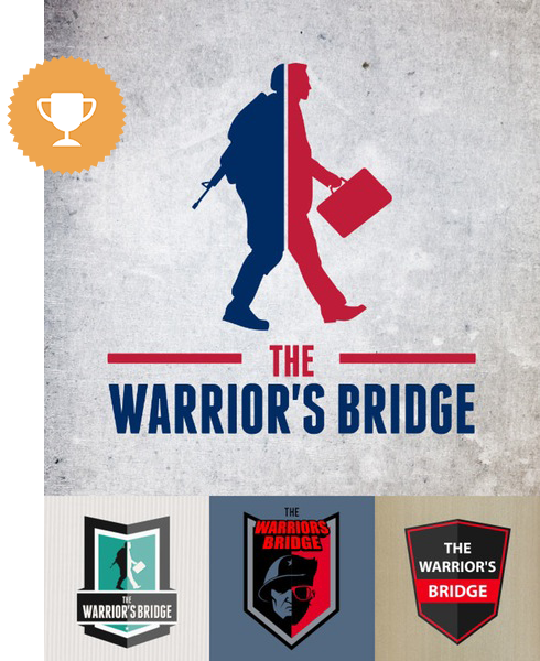 the warrior's bridge community & non-profit logo design