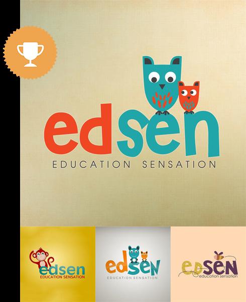 edsen education logo design