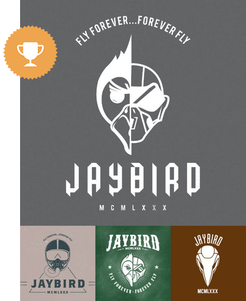 jaybird fashion logo design