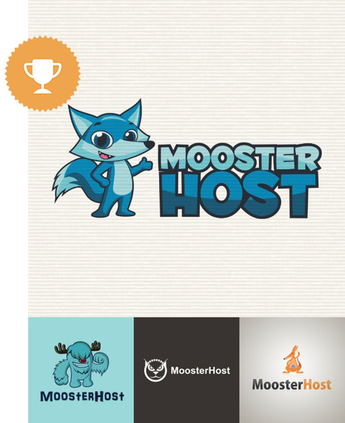 moosterhost internet logo design