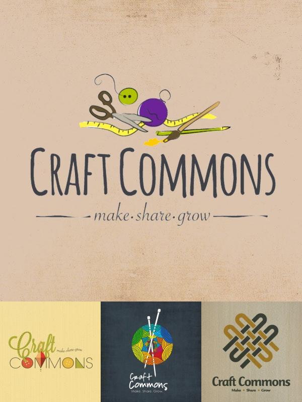 Craft Commons logo design contest