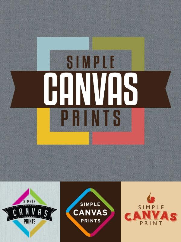 Simple Canvas Prints logo design contest