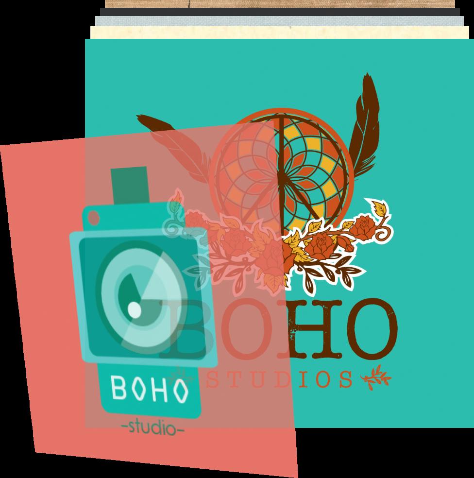 Boho Studios art & design logo design