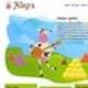Runner up Web page design entry for Allegra