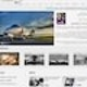 Runner up Web page design entry for Grossmann Jet Service
