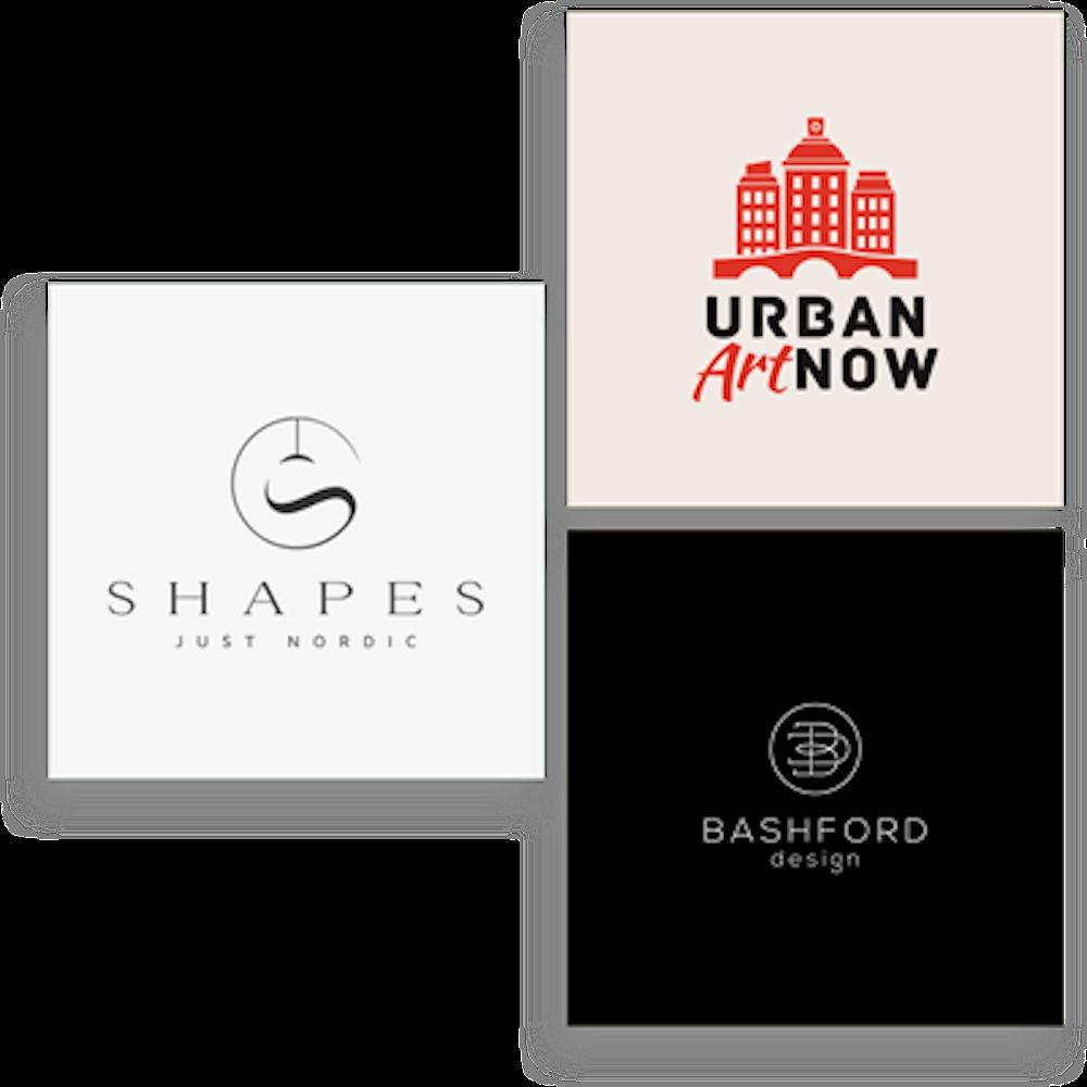 art & design logo examples