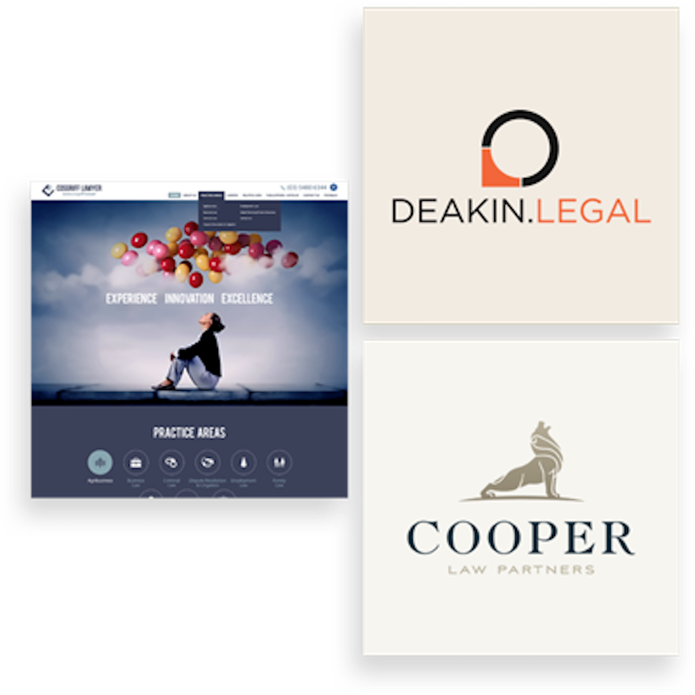 attorney & law logo examples