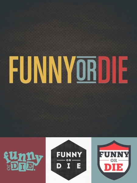 funny or die entertainment logo design