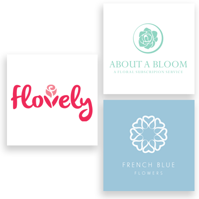 floral logo examples
