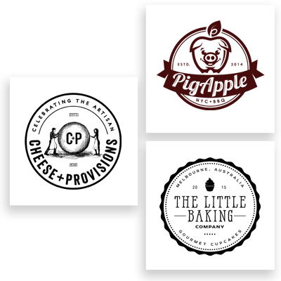 food & drink logo examples