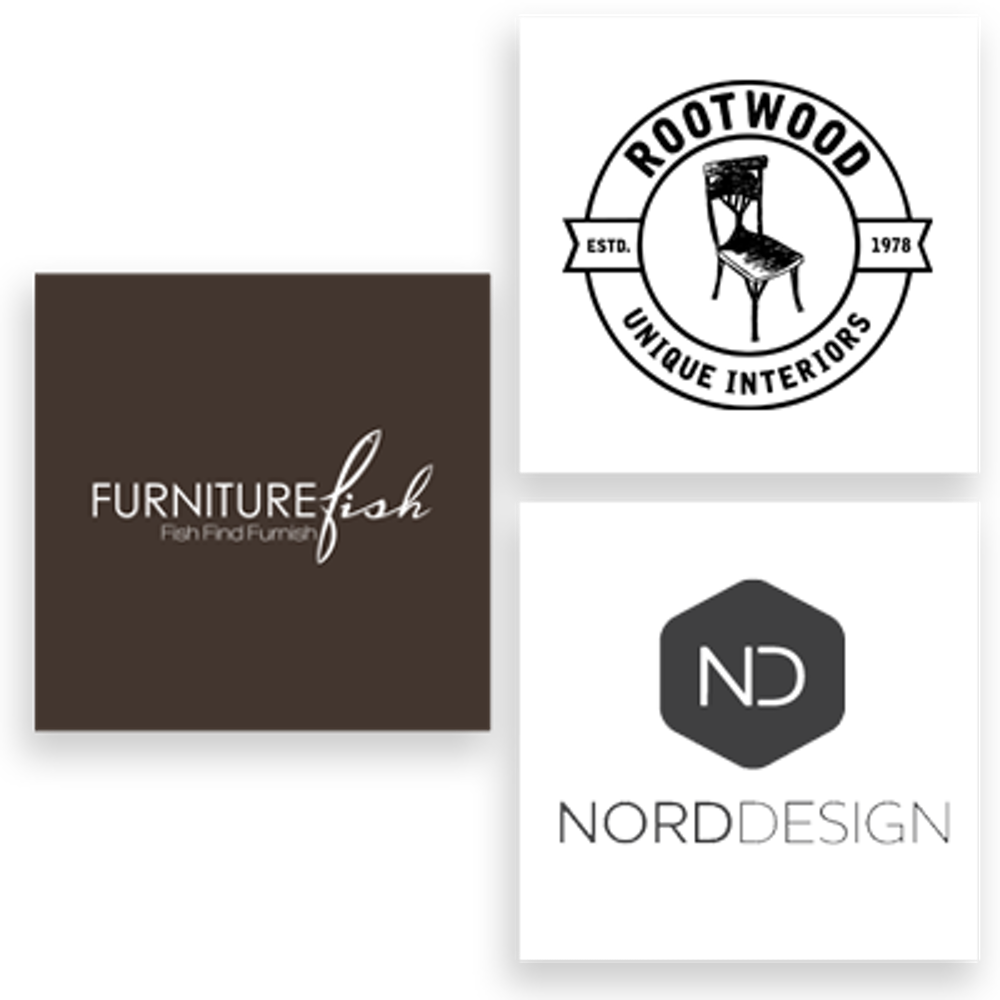 home furnishings logo design 99designs. Black Bedroom Furniture Sets. Home Design Ideas