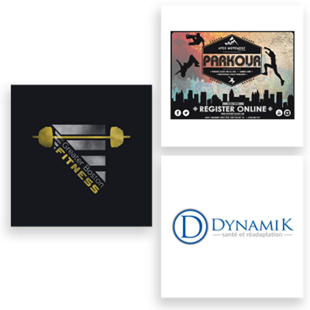 physical fitness logo examples