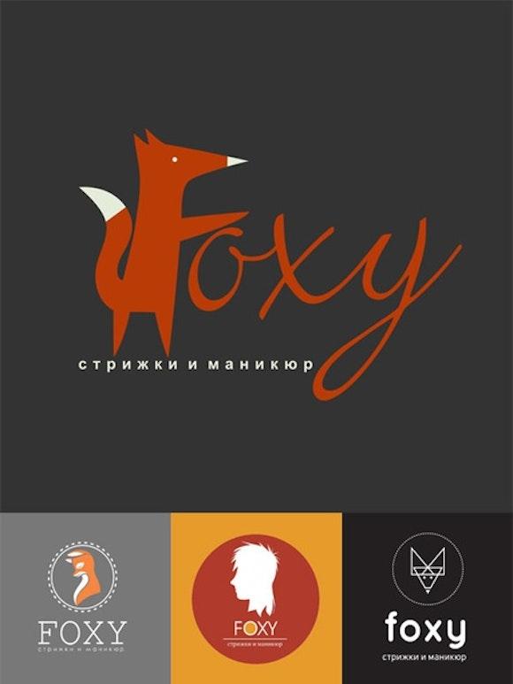 foxy spa & esthetics logo design