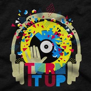 Winning T-Shirt entry for Dance Euphoria