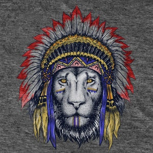 Winning T-Shirt entry for A lion