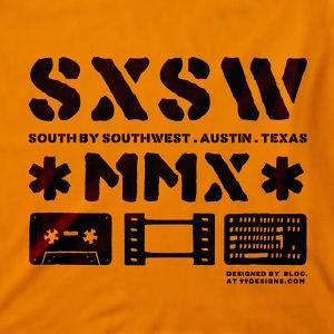Winning T-Shirt entry for SXSW