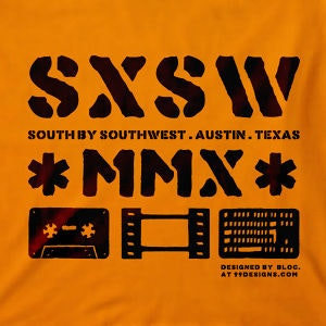 Winning T-Shirt entry for SXSW