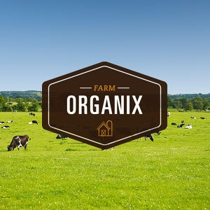 Winning Logo design entry for Farm Organix