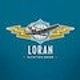Runner up Logo design entry for Loran Aviation Wear