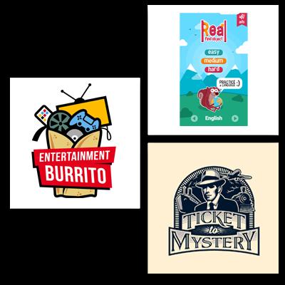 games & recreation logo examples