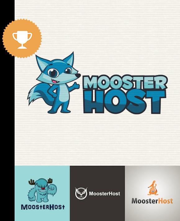 moosterhost internet logo design