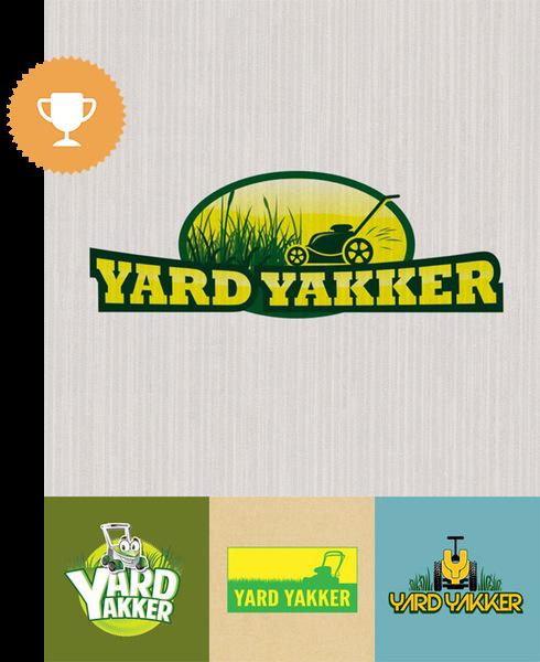 yard yakker landscaping logo design