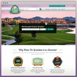 Logo per Home for Grandma di WebBox