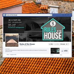 Facebook cover for Rules of the House by Dallas Kacey