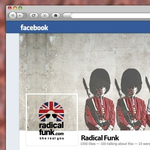 Social media page for Radical Funk by Youssarj