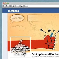 Logo design for Schimpfen und Fluchen by andreicantea
