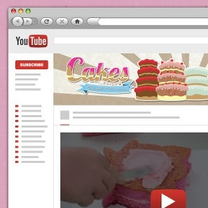 Social media page for Cakes by ChoppA by abata5tudio