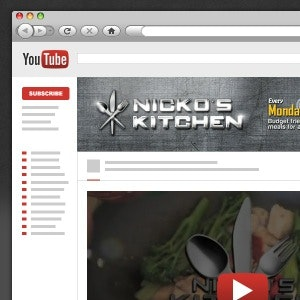 Social media pagina voor Nichko's Kitchen door Sidati