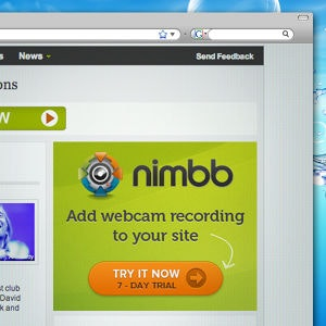 Banner ad for Nimbb.com by cekidot