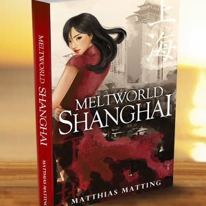 Magazine cover for Meltworld: Shanghai by BEEGRAPic